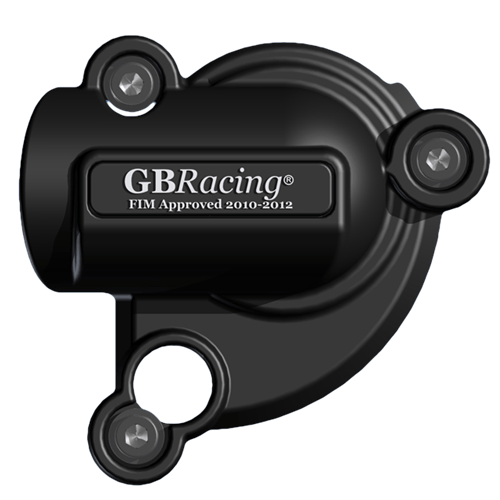 GB Racing Water Pump Cover - #EC-1198-2007-5-GBR 848 Superbike 08-12/1198 Superbike 09-12/Secondary Engine Cover/Injection Molded/High Impact/Low Wear/Installs Over Stock Cover