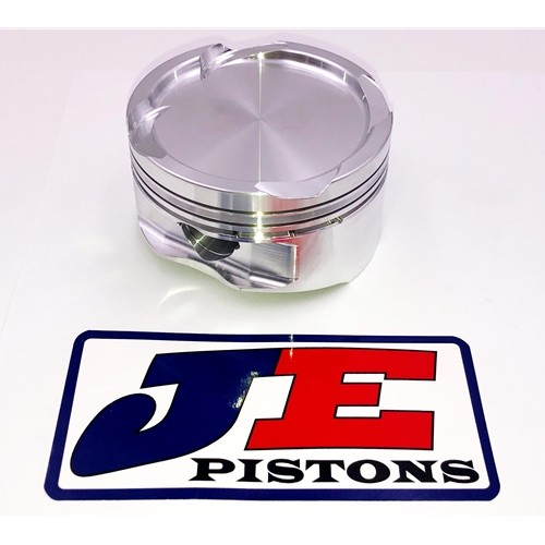 "JE Pistons Forged Piston Kit Suzuki GSX 1300R Hayabusa 1999 2007 81mm Bore 8.7:1 Tall Deck  0.080"" Deck 1298cc"