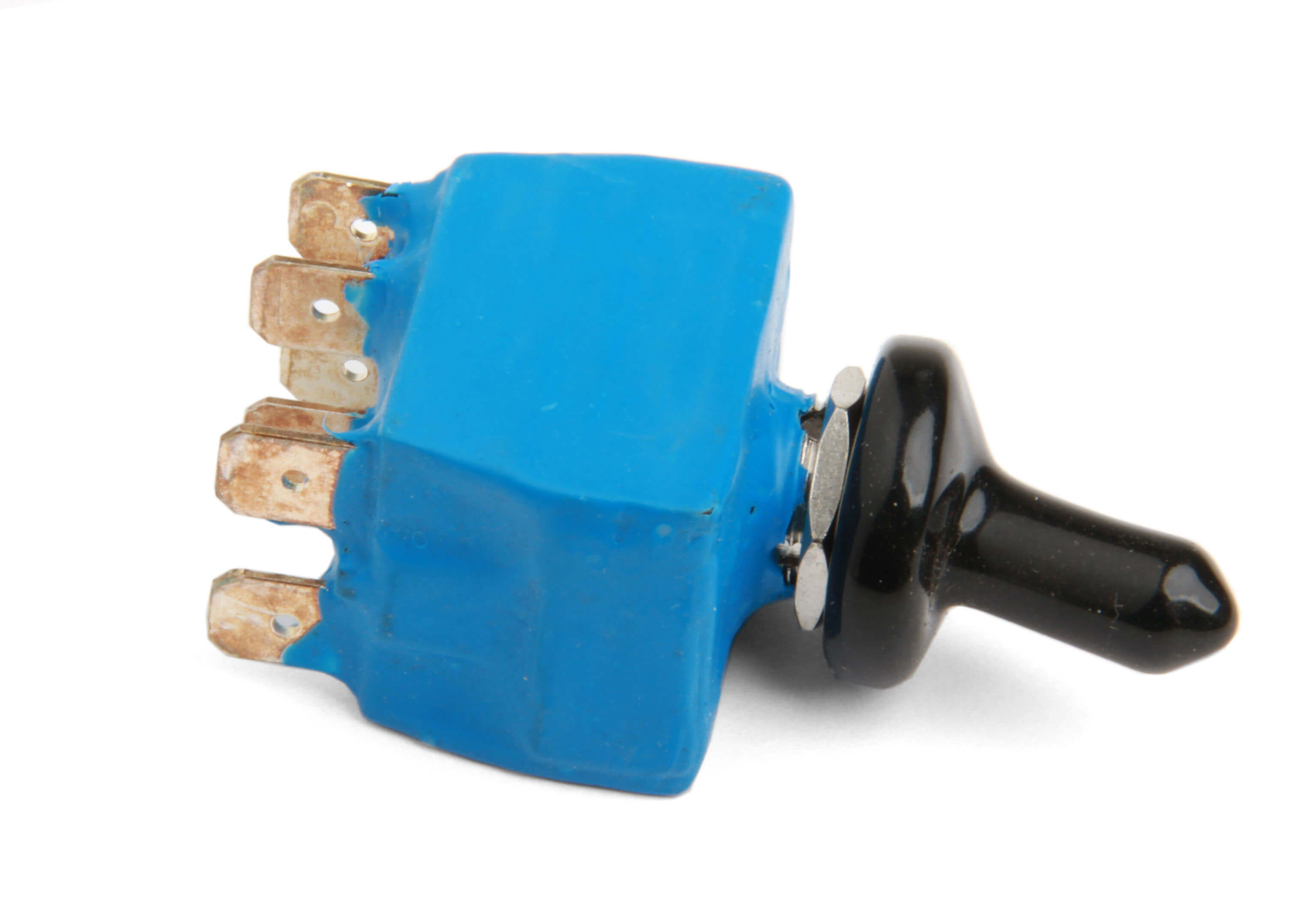 NOS Switch - #15655 Blue Toggle Switch