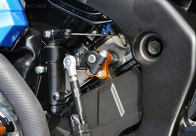 Sato Racing Shift Spindle Holder - #S-GSX117RS-SHDR GSXR1000/R 17-18 Shift Spindle Holder