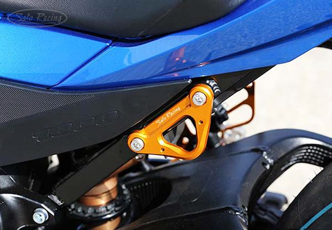 Sato Racing Racing Hook - #S-GSX117HOOK-GD GSXR1000 17-18 Racing Hook Gold [L]-Side ONLY