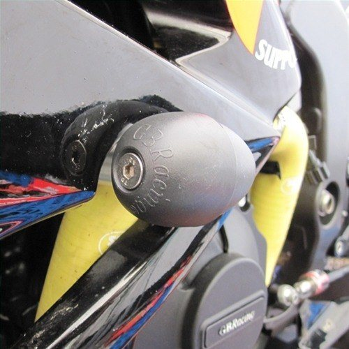 GB Racing Replacement Bullet Frame Slider Kawasaki ZX 6R Ninja 2009 2012 Left Side Race Use