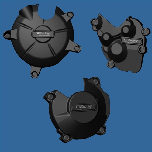 GB Racing Engine Cover Set Kawasaki ZX 6R 636 Ninja 2013 Secondary Engine Covers