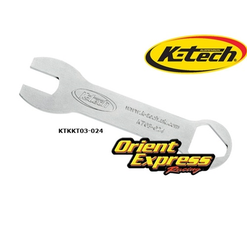 K-Tech Suspension Front Fork Tools - #113-010-020  Fork Top Cap Spanner Wrench 20DDS/25SSK/KTR-3