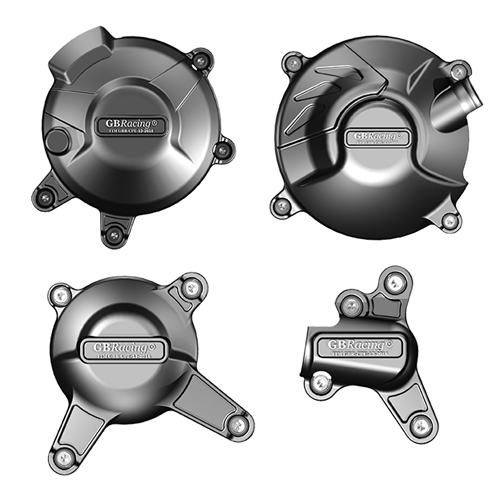 GB Racing Engine Cover Set Yamaha FZ09 MT09 2014 2017 XSR900 2015 2016 Secondary Engine Cover Set Four Pieces