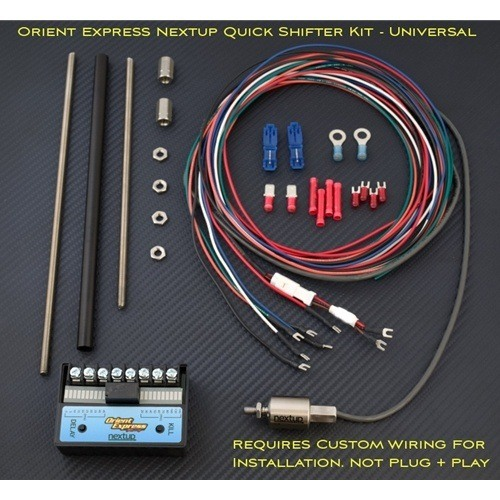 NextUp Quickshifter Kit Universal Terminal Connectors Gear Position Adjustable Push Sensor