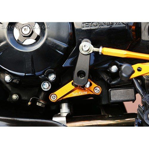 Sato Racing Shift Spindle Holder Shaft Support Bracket Honda MSX 125 Grom 2014-> Gold Anodized