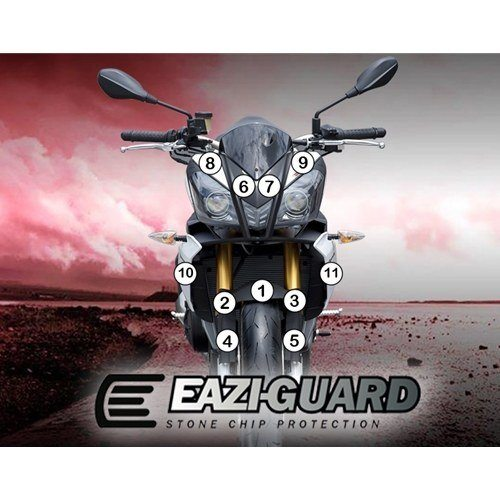 Eazi-Guard Self-Healing Kit - #GUARDAPR002 TUONO V4 11-14 Self-Healing Paint Protection Kit