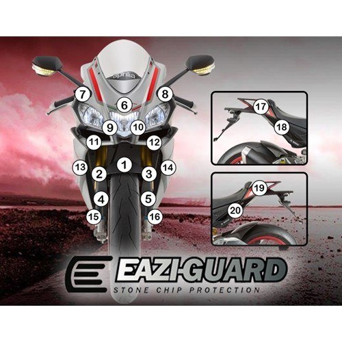Eazi-Guard Self-Healing Kit - #GUARDAPR003 RSV4 15-17 Self-Healing Paint Protection Kit