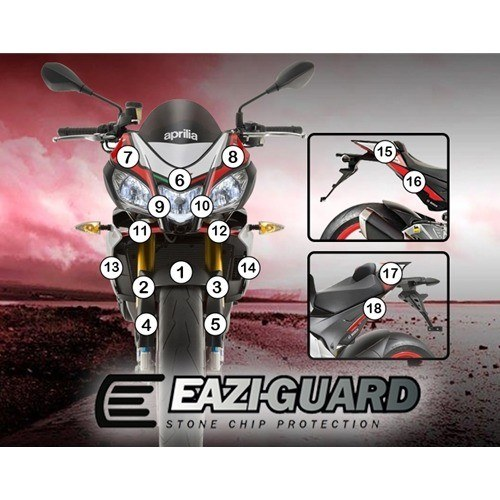 Eazi-Guard Self-Healing Kit - #GUARDAPR004 TUONO V4 15-17 Self-Healing Paint Protection Kit