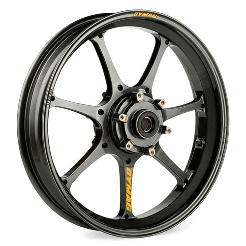 "#DYMUP7X-B2524A ZX600 (ZX-6R)04 Front 17"" x 3.5"""