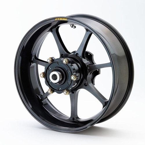 Dymag Aluminum Wheel UP7X - #UP7X-B2735A RC8 ( CUSH DRIVE)  06-16 Rear 17""