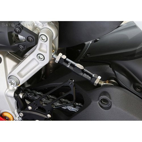 Sato Racing Ducati 899 Panigale Adjustable Suspension Link Rod Change Chassis Geometry