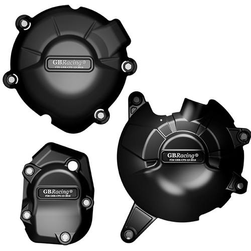 GB Racing Secondary Engine Cover Set - #EC-Z900-2017-SET-GBR   Z900 17-18  / Z900RS 18