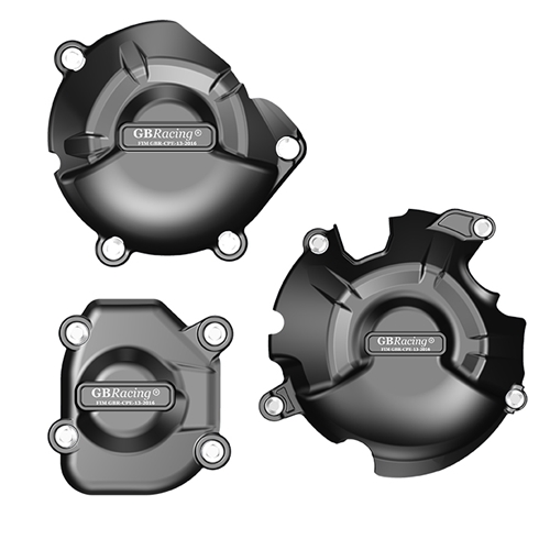 GB Racing Secondary Engine Cover Set - #EC-Z800-2013-SET-GBR Z800 13-16 Includes: Alternator/Clutch/Pulse covers