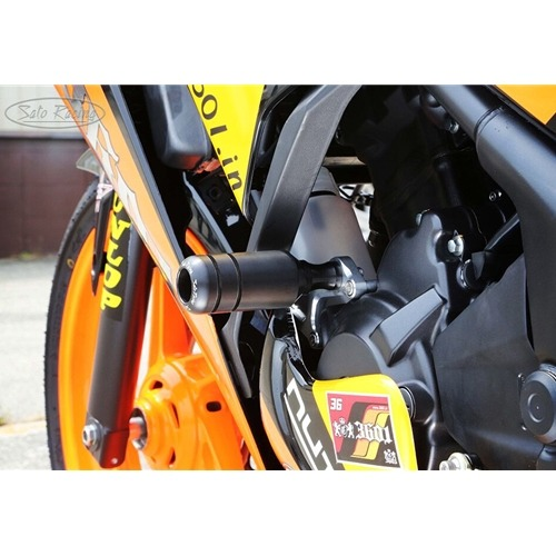 Sato Racing Frame Sliders - #H-CBR314FS-BK CBR300R (CBR250R) 14-15 Frame Sliders Black