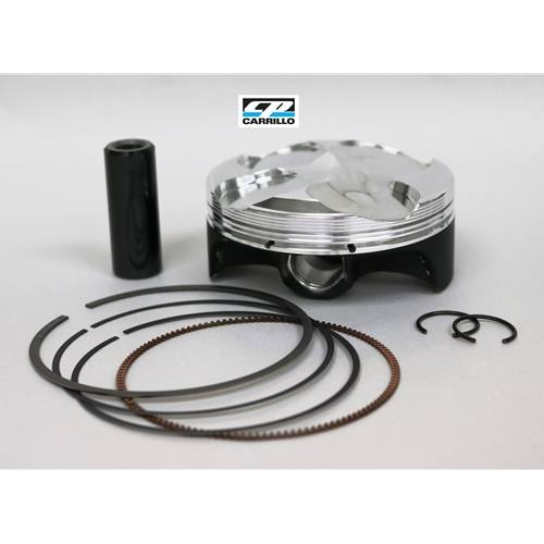 CP Pistons Forged Piston Kit - #MX3061 KX250F 2017 14.2:1 77mm std bore x53.6mm stroke (249cc) Piston Assembly