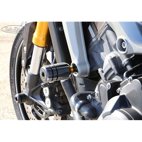Sato Racing Frame Sliders - #Y-MT09FSD-BK FZ09/MT09 14-18/XSR900 2016 Frame Sliders Direct Mount Black