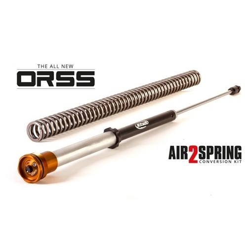 K-Tech Suspension Air2 Spring System Conversion