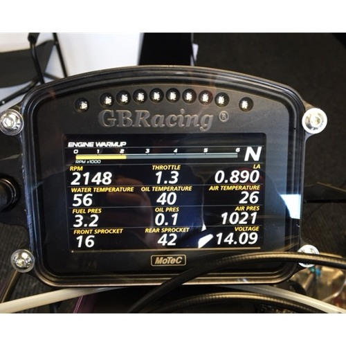 GB Racing MoTec C120 Dash Protection