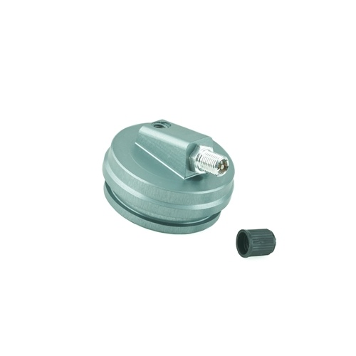 K-Tech Suspension Extended Reservoir Cap - #211-200-145  (Showa 49x6.0mm) -Grey includes valve