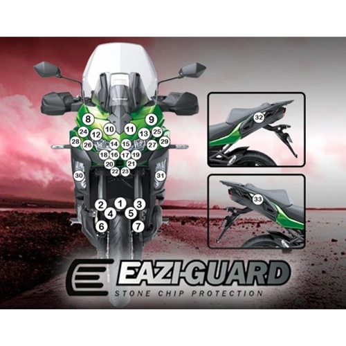 Eazi-Guard Self-Healing Kit - #GUARDKAW020  VERSYS 1000 SE 19-20 SELF-HEALING PAINT PROTECTION KIT