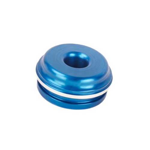 Shock Absorber Reservoir End Cap Extended -inc Valve (KYB 54x22mm) -Blue