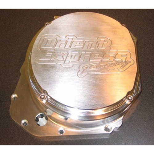 Orient Express Billet Quick Access Clutch Cover Suzuki GSX 1300R Hayabusa 1999 2014 Fits Lockup Clutches
