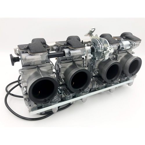 Mikuni RS Flatslide Carburetors 34mm Fits Kawasaki KZ Suzuki GS & Early GSX-R Set Of 4