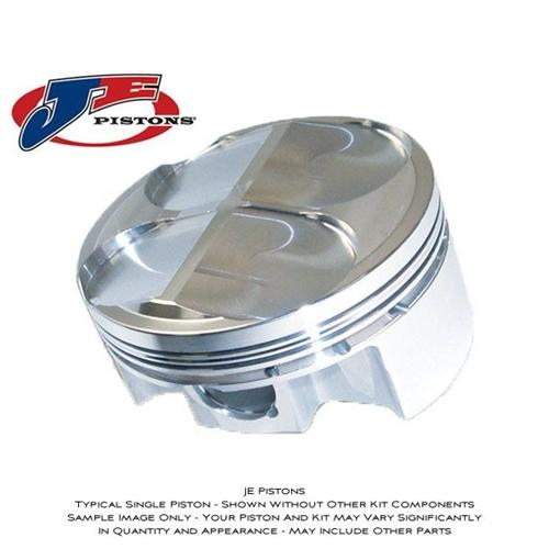 JE Pistons Forged Piston Kit - #221407 GSXR 1000 01-04/76mm/13.5:1/1070cc/FSR Skirt