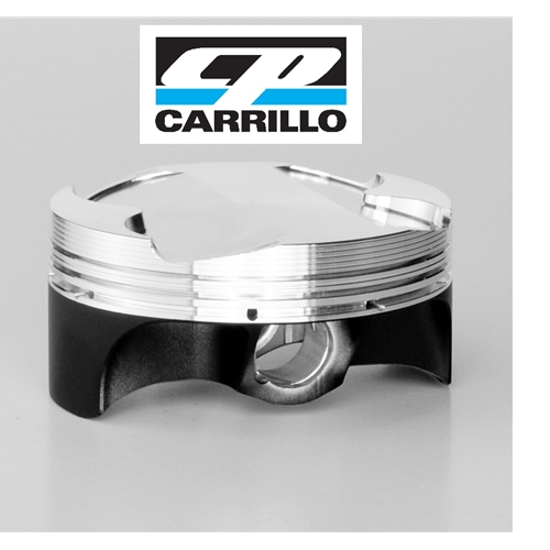 CP Pistons Forged Piston Kit - #MX4019C-050-4 GSXR 1000 05-08/76mm +2.6/13.50:1/1078cc/Includes 4 ea pistons, rings, pins and clips/Project X/Stroker -.080 Deck/Coated Skirt