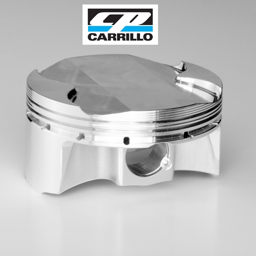 CP Pistons Forged Piston Kit - #M4037-4 ZX 14 ZZR 1400 Ninja 06-18/86mm +2/13.25:1/08-11 1418cc/ 12> 1510cc/Includes 4 ea Pistons, rings, pins and clips