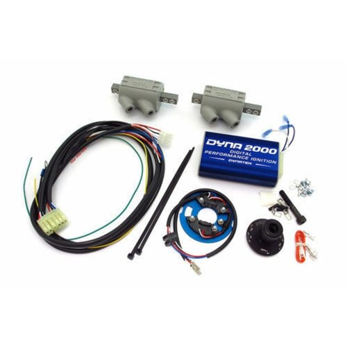 Dynatek Dyna 2000 Digital Ignition Includes Coils - #DDK2-2C KZ 650 77-80/KZ 750 80-84 Including GPZ and Turbo/Includes Coils