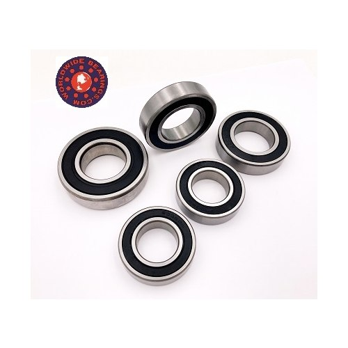 World Wide Bearings Ceramic Wheel Bearings - #YZR6-700 YZF 600 R6 06-16 Ceramic Wheel Bearing Kit 5 pc set