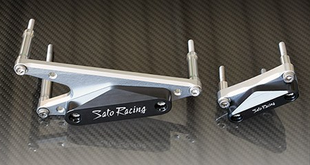 Sato Racing Engine Sliders - #S-B1250ES Bandit 1250/GSX1250 07-11 Engine Sliders