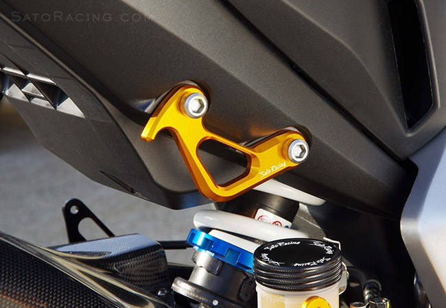 Sato Racing Racing Hooks - #H-CB1000HOOK-GD CB1000R 08-15 Racing Hooks Gold