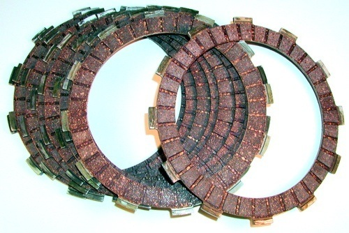 Orient Express Clutch Friction Plates - #7500-736 GSXR 750 00-05/High Performance/Heavy Duty/Fibers