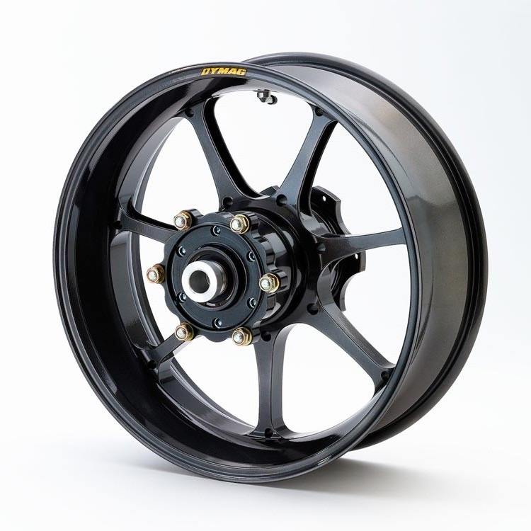 Dymag Aluminum Wheel UP7X - #UP7X-B2786A GSXR1300 Hayabusa  08-16 non ABS Rear 17""