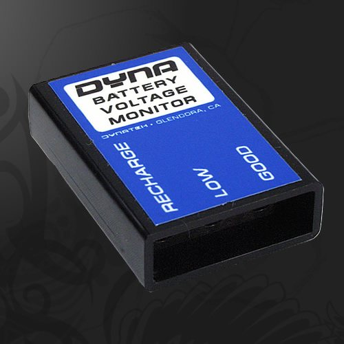 Dynatek Dyna Voltage Monitor - #DVM-1 Display/3 LED/Monitors Battery Condition