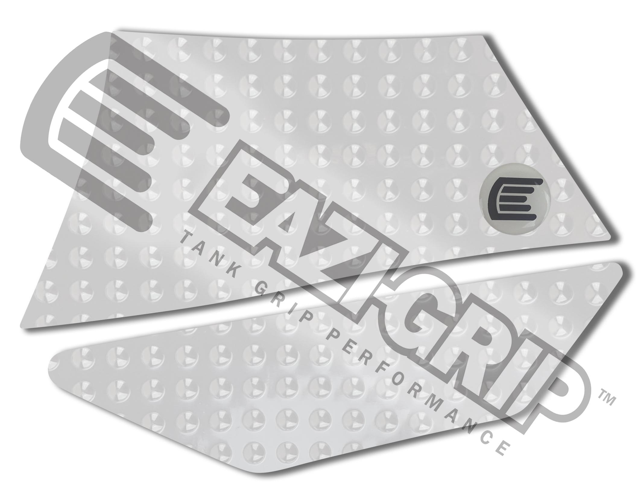 Eazi-Grip Evo Tank Grips - #EVO500CL Adventure 1190 13-14/Clear