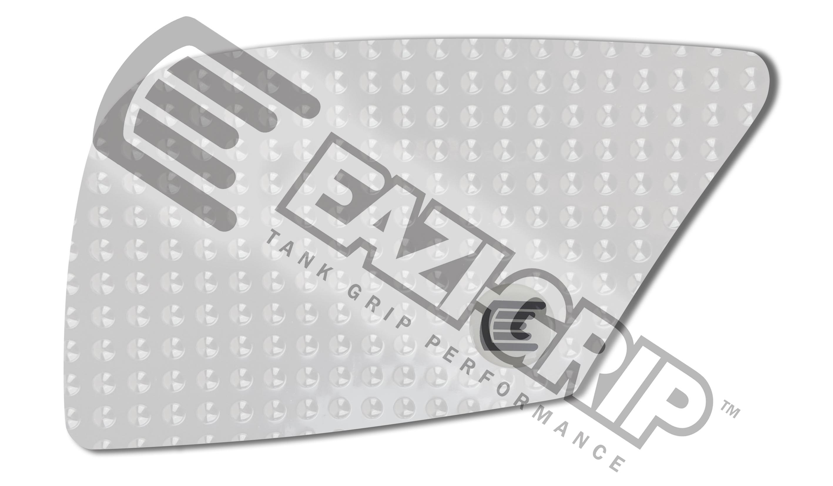Eazi-Grip Evo Tank Grips - #EVO504CL Duke 690 12-16/Clear