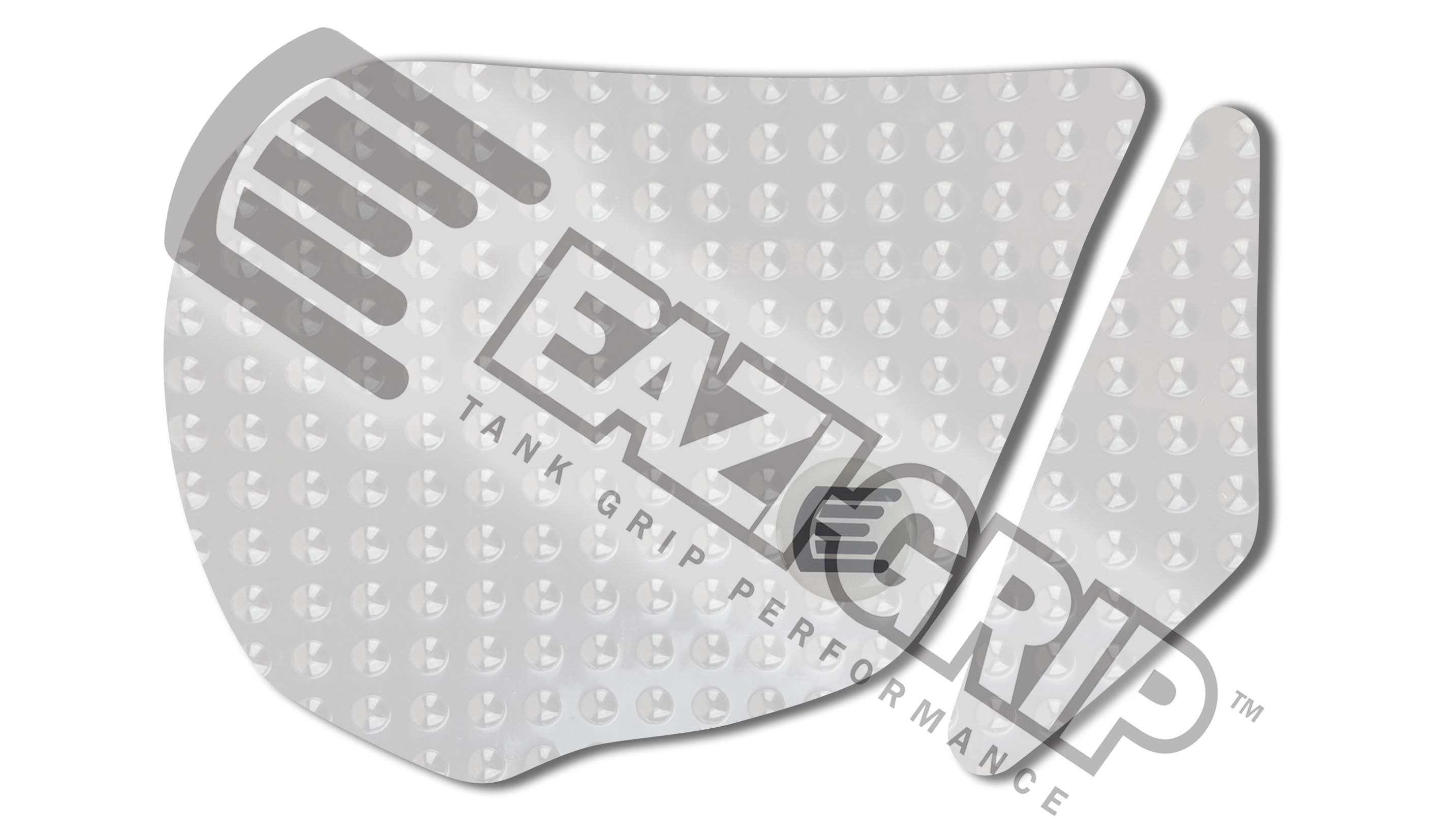 Eazi-Grip Evo Tank Grips - #EVO506CL RC8 Superbike 09-16/Clear