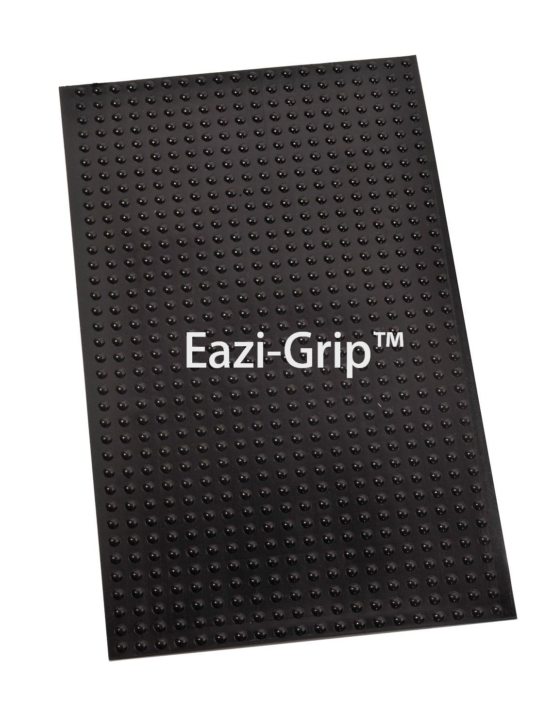 Eazi-Grip Evo Universal Cut To Fit Sheets (2)/Black/305mm X 155mm - #EVOSHEETSBL 2 x Tank Grip Sheets EVO Black (305mmx155mm)
