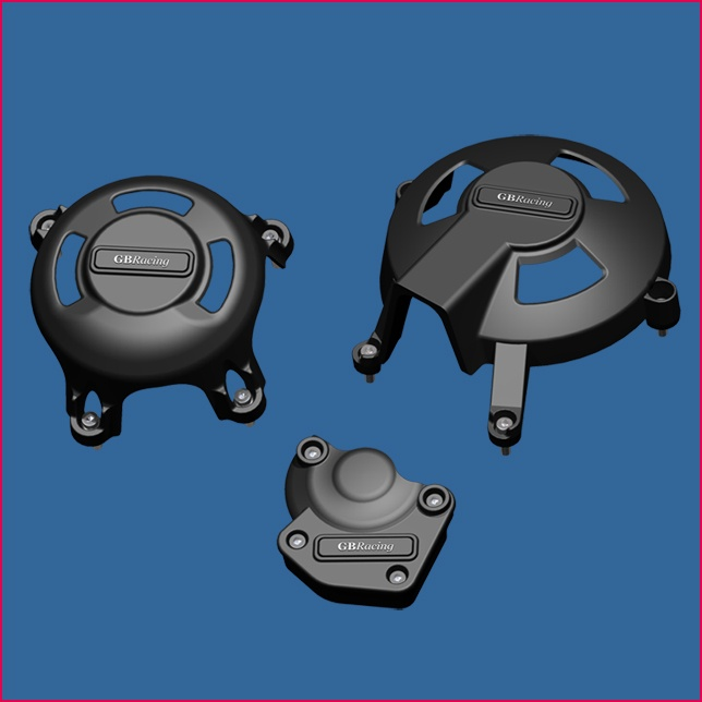 GB Racing Engine Cover Set Triumph Daytona 675 2006 2010 Street Triple 2007 2010 Secondary Engine Covers