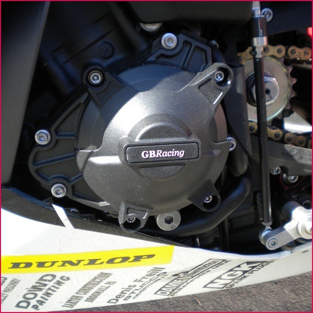 GB Racing Stator Cover - #EC-R1-2009-1-GBR YZF 1000 R1 09-14/Fits Standard Alternator/Generator Cover ONLY/Injection Molded Long Fiber Reinforced Nylon/High Impact/Low Wear