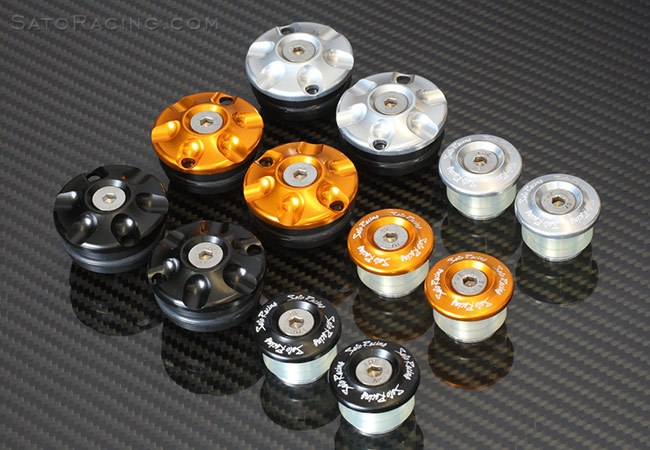 Sato Racing Frame Plugs