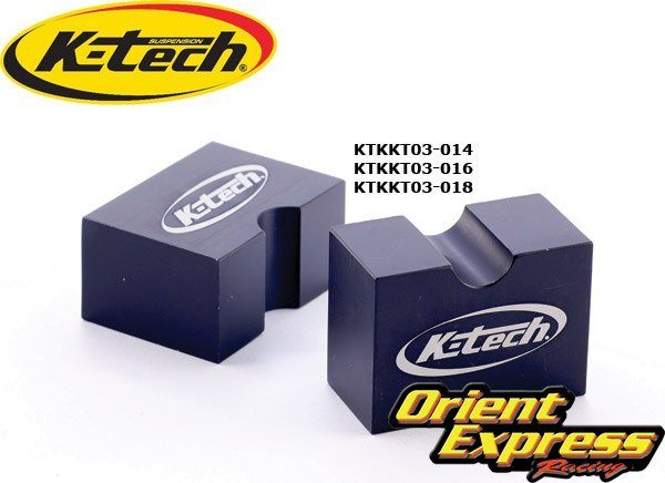 K-Tech Suspension Shock Tools - #213-070-016  RCU Piston Rod Clamp 16mm