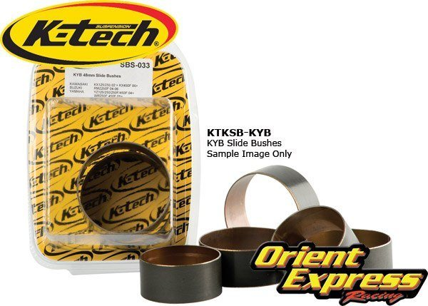 K-Tech Suspension Fork Slide Bushings KYB pair - #SBS-017  43.70mm x 20mm x 1.0mm