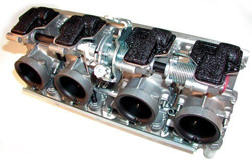 Mikuni RS Flatslide Carburetors 36mm Kawasaki KZ   Suzuki GS   Early GSX-R Set Of 4