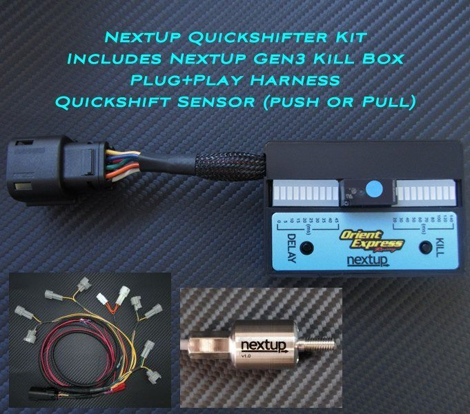 NextUp Quickshifter Kit Suzuki GSX-R 600 750 2004 2005 Gear Position Adjustable Pull Sensor